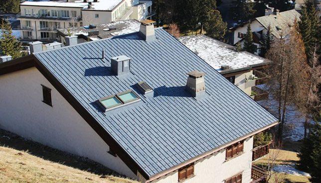 Prefa Dachschindeln aus Aluminium